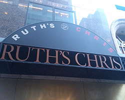 Ruth's Chris Steakhouse New York, NY | flooring project by Class Carpet