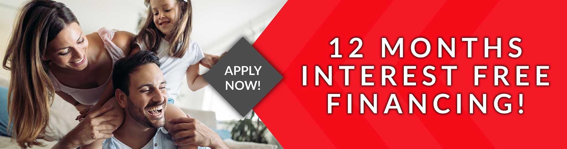 Class Carpet & Floor offers 12 Months No Interest financing